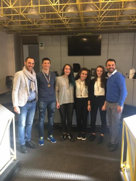 MONCALIERI - Premiati cinque studenti con le borse di studio del Comune