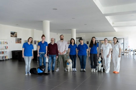 NICHELINO - Via alla terapia con animali nella casa di riposo