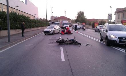 BEINASCO - Gravi incidenti a Borgaretto e borgo Melano: due motociclisti feriti