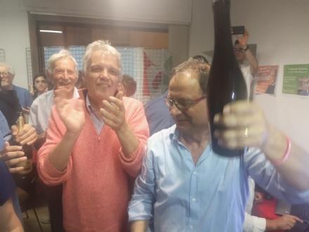 PIOSSASCO - Vince Giuliano, il centrosinistra resta al governo del Comune