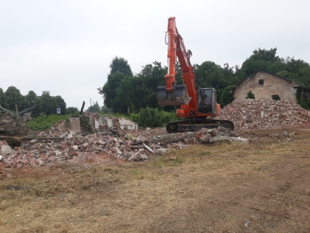 RIVALTA - Partono i lavori di riqualificazione del parco delle Casermette