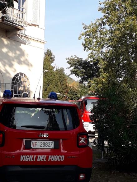 """MONCALIERI - Paura alla comunità """"Il Porto"""" per un incendio"""