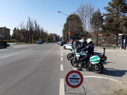 MONCALIERI - Fino al 13 aprile posti di blocco intensificati sulla rete stradale