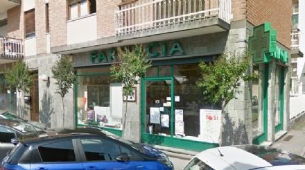 BORGARETTO - Rapinata la farmacia di via Gorizia