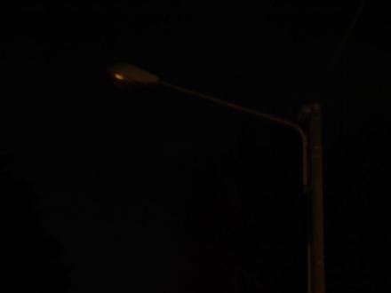 MONCALIERI - Continuano i problemi di illuminazione al parco lineare
