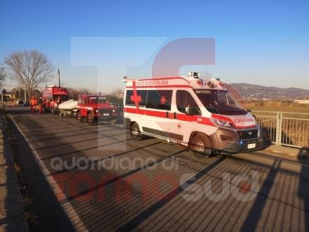 MONCALIERI - Esce di casa e muore nel Chisola: ritrovata dai vigili del fuoco allaltezza del ponte di strada Barauda