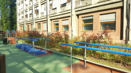 ORBASSANO - Inaugurata la palestra verde nel giardino che cura al San Luigi