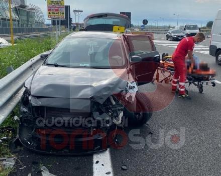 NICHELINO - Incidente stradale in via Debouchè: una persona ferita e traffico in tilt - FOTO