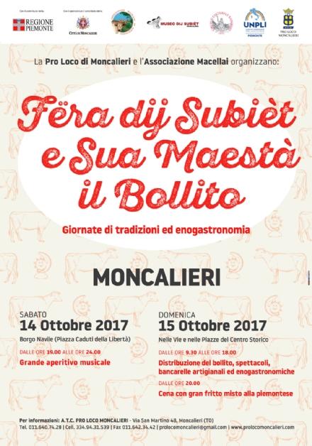MONCALIERI - Fine settimana con Fëra dji Subièt e Sua Maestà il Bollito