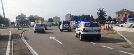 ORBASSANO - Pedone investito da unauto alla rotonda di Tetti Francesi: è in gravi condizioni
