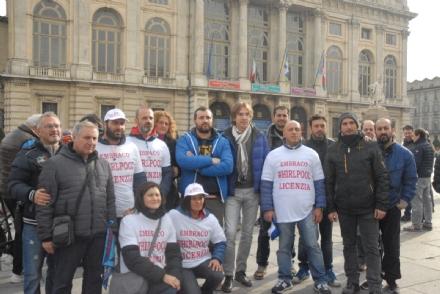 NICHELINO - Nel corteo dei lavoratori Embraco, anche il sindaco e lassessore Verzola - LE FOTO -