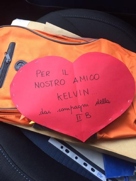 MONCALIERI - Kelvin tornerà presto a casa e oggi ha anche parlato con Dybala