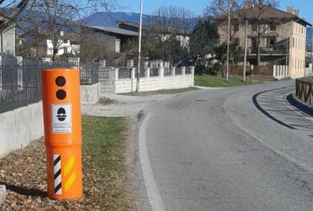 VINOVO - Arrivano dieci velobox per controllare la velocità