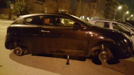 NICHELINO - Ancora furti di gomme: diversi casi nel fine settimana