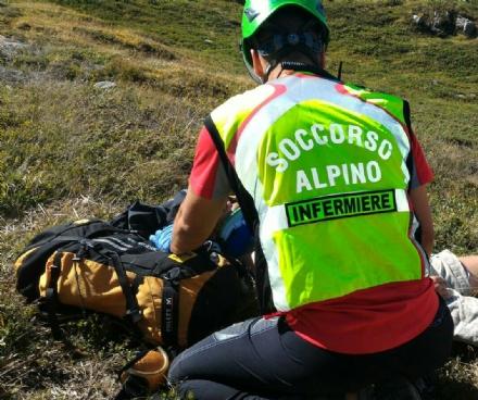 CARMAGNOLA - Due escursionisti bloccati da un temporale in montagna: salvati