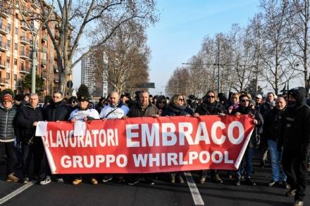 LAVORO - Fallimento Ventures: «Mise valuti accorpamento dossier con Whirpool»