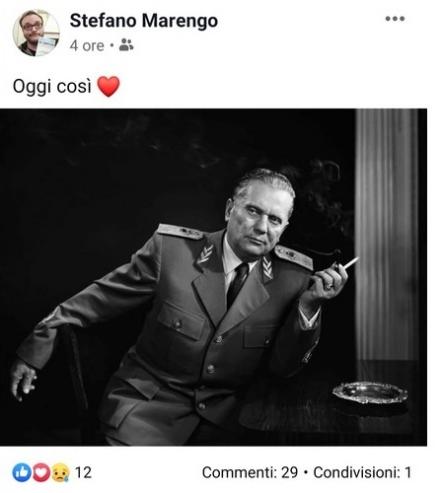 BRUINO - Polemiche per il post sul marcesciallo Tito da parte del segretario cittadino Pd