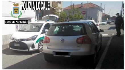 NICHELINO - Girava senza motivo per la zona Oltrestazione: 533 euro di multa