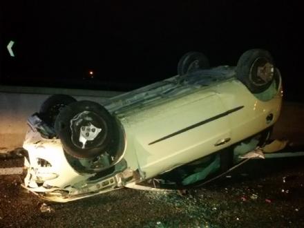 Incidente lungo lautostrada del pinerolese: ferita ragazza di Sangano
