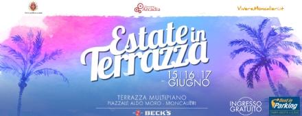 """MONCALIERI - """"Estate in terrazza"""" al multipiano del centro storico"""