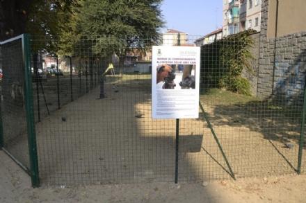 NICHELINO - Nasce la nuova area cani tra via XXV Aprile e via Ferraris