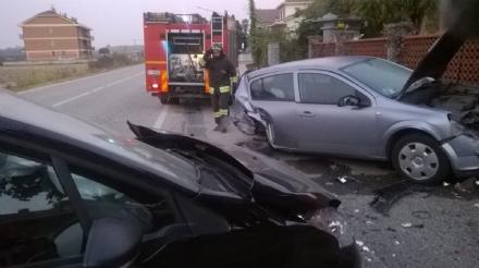 CARMAGNOLA - Schianto sulla provinciale 130, ragazza di Carmagnola ferita