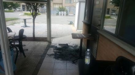 CARMAGNOLA - Ancora un incendio al bar Katia: Il rogo sembra essere doloso