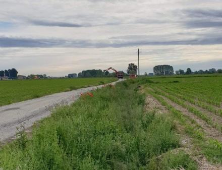 VIRLE - Partono i lavori sulla strada delle frazioni Miglia e Corre