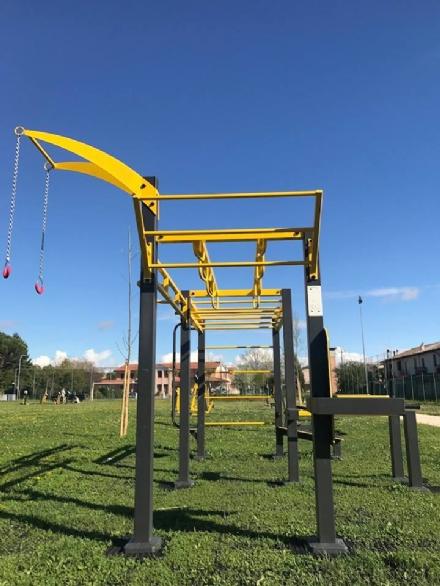 NICHELINO - Arriva il nuovo attrezzo per la ginnastica allaperto