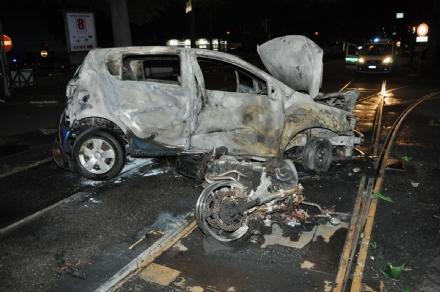 INCIDENTE MORTALE - Ragazzo di Beinasco muore a Torino nello scontro auto-moto: aveva solo 27 anni - FOTO