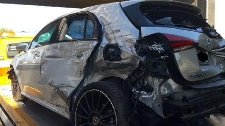 RIVALTA - Grave incidente in tangenziale: 6 veicoli coinvolti e 4 feriti
