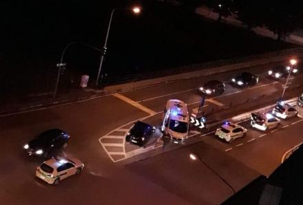 MONCALIERI - Incidente stradale: due automobilisti feriti