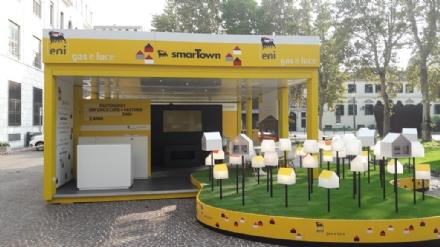 La casa efficiente di Eni Gas e Luce arriva nelle piazze italiane
