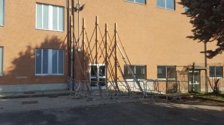 MONCALIERI - Scuola Montessori: palestra chiusa per problemi al soffitto