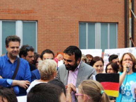 MONCALIERI - Paolo Montagna si ricandida a sindaco: «Cè un lavoro da completare»