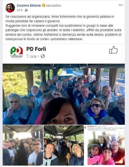 MONCALIERI - Bufera sul consigliere comunale Cinque Stelle per il post sul Pd