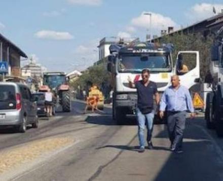 CARMAGNOLA - Lasfaltatura delle strade a Salsasio è da rifare