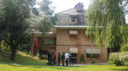 SANGANO - Lassociazione carabinieri si insedia nella villa confiscata dal Tribunale