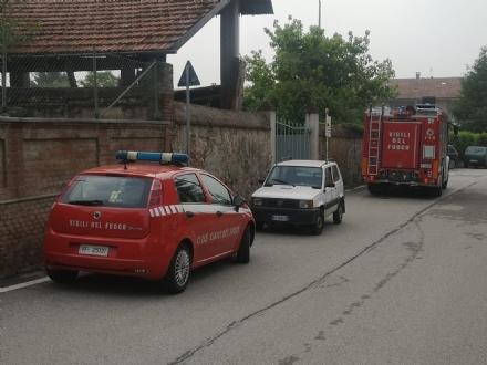 TROFARELLO - Esplode una roulotte: un uomo ustionato. Trasportato in codice rosso al Cto