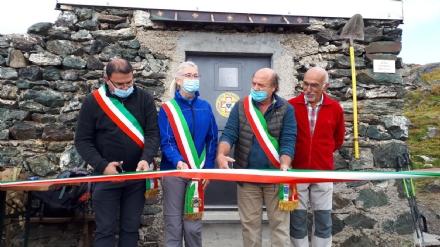 MONTAGNA - È stato inaugurato ufficialmente il Bivacco Carmagnola - FOTO