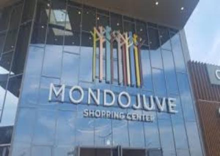 NICHELINO - Cede un tettuccio di uno scaffale in un negozio di Mondo Juve