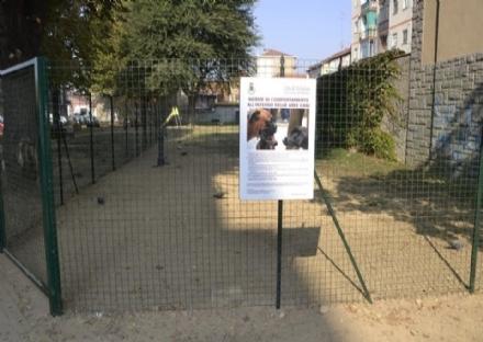 NICHELINO - Il Comune chiude le aree cani: troppi indisciplinati