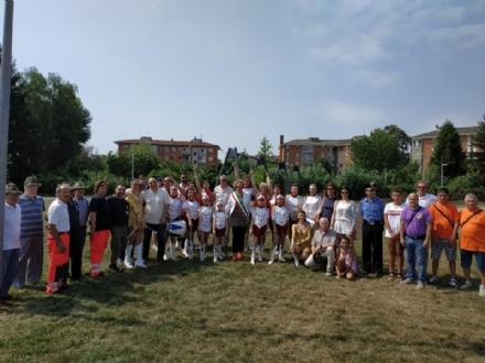 ORBASSANO - Inaugurato il parco del quartiere Arpini