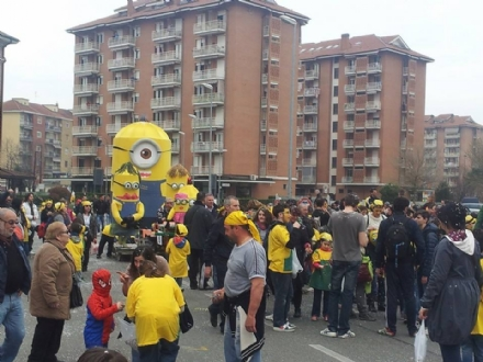 ORBASSANO - Dopo due anni di stop, ritorna la sfilata dei carri a Carnevale