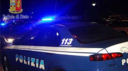 MONCALIERI - Ladri in manette dopo aver rubato unAudi e speronato lauto della polizia dopo un inseguimento da film - VIDEO