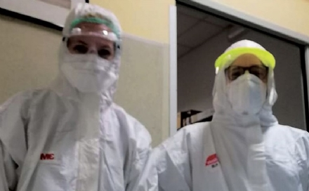 MONCALIERI - Allospedale Santa Croce mancano tute idrorepellenti; lappello delle istituzioni