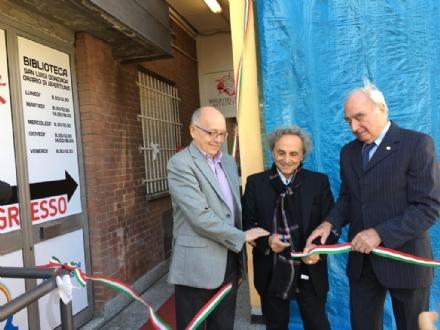 ORBASSANO - Inaugurata la prima biblioteca dentro ad un ospedale