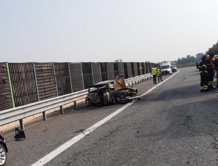 ORBASSANO - Denunciato per omicidio stradale il conducente della vettura che ha causato lincidente in autostrada