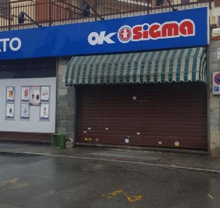 PIOSSASCO - Rapinato il supermercato Sigma; paura in via Pinerolo