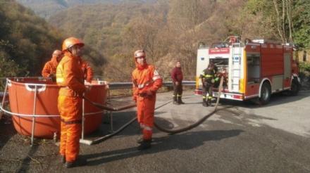INVESTIMENTI - 600 mila euro ai Vigili del fuoco volontari del Piemonte